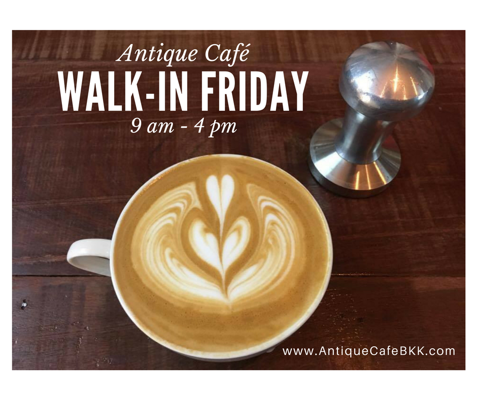 Walk-In Friday 9-4